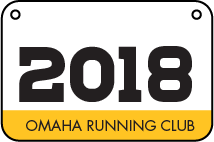 Omaha Running Club race services including timing, bibs and finish line