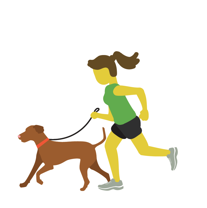 Runner-with-dog